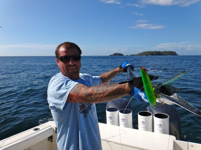 Fishing Photos. Pacific Needlefish