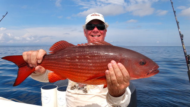CFP- John with a nice Snapper