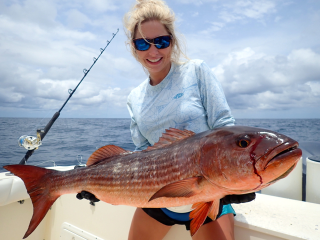 Fishing Photos, Mullet Snapper, 2019 Panama Fishing Season